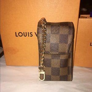 Auth Louis Vuitton Damier Case